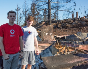 volunteer story_Patrick and Jackson Oct17