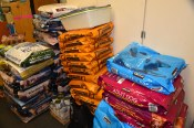 Pet Shelter Story - Donated Pet Food Supplies